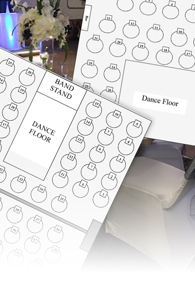 event hall rental floor plans